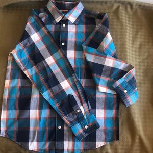 Boy button down shirt